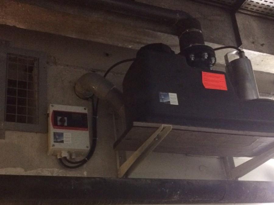 Installation poste de relevage SALMSON dans les Halles de Lyon Paul Bocuse 04 72 93 91 83