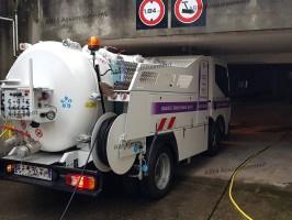 Pompage de fosse ascenseur tel 0472939183 ABM ASSAINISSEMENT